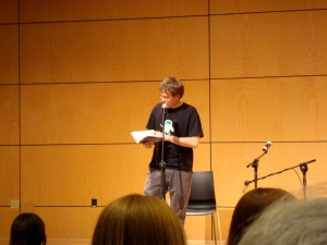 John Green reading from Paper Towns