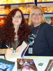 Karin with Melissa Marr