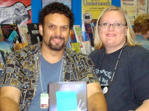 Karin with Neal Shusterman