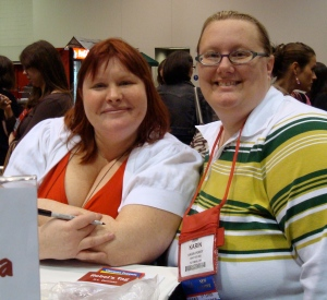 Cassandra Clare and Karin