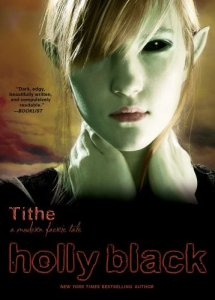 cover art of Tithe by holly black